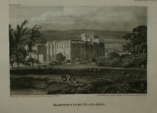 HAMPTON COURT BY J. WALKER C. 1795