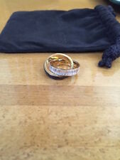 Auth new Michael Kors Fashion Eternity ring, two-in-one; size 7