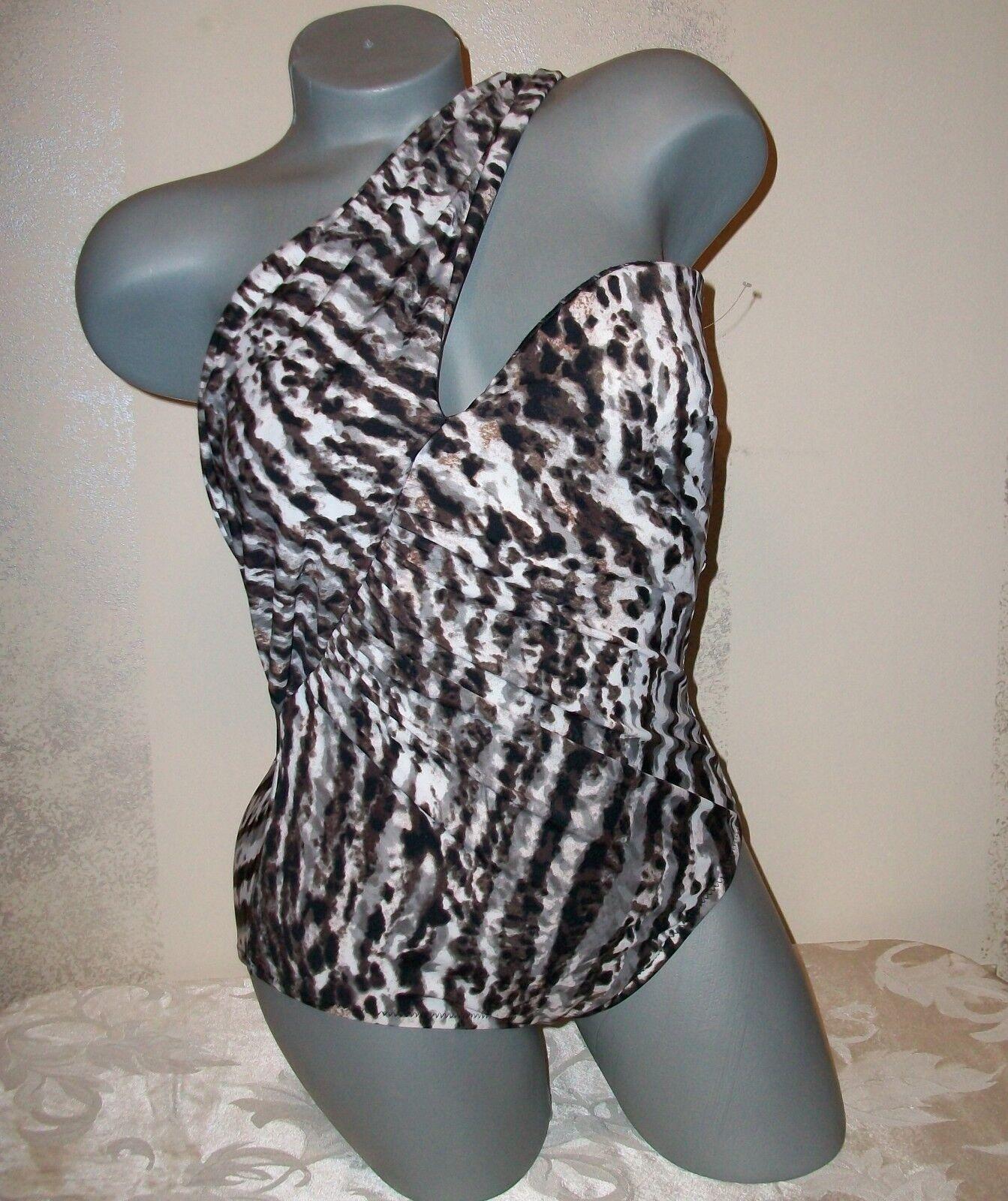 164 Victoria Secret Magicsuit Goddess Animal Print Swimsuit 8
