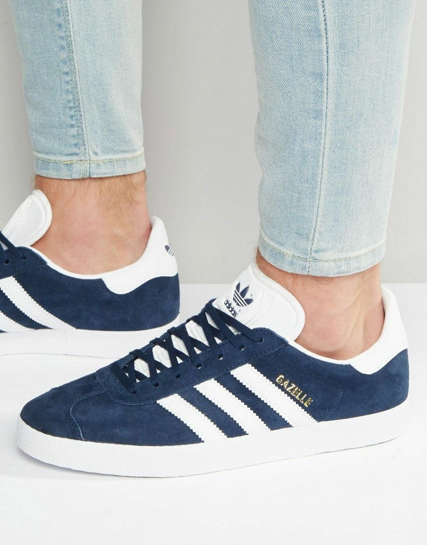 adidas originals gazelle sneakers in marine 100 bb5478 größe 8 msrp 100 marine df957e