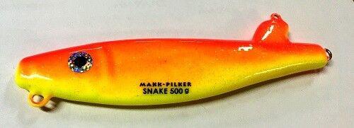 Seawaver Lures Makk-Pilker Snake gelb//rot
