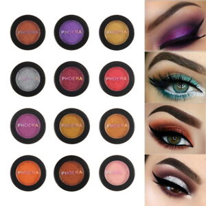 New-28Colors-Glitter-Shimmer-Metallic-Eyeshadow-Palette-Pigment-Eye-Shadow-Charm
