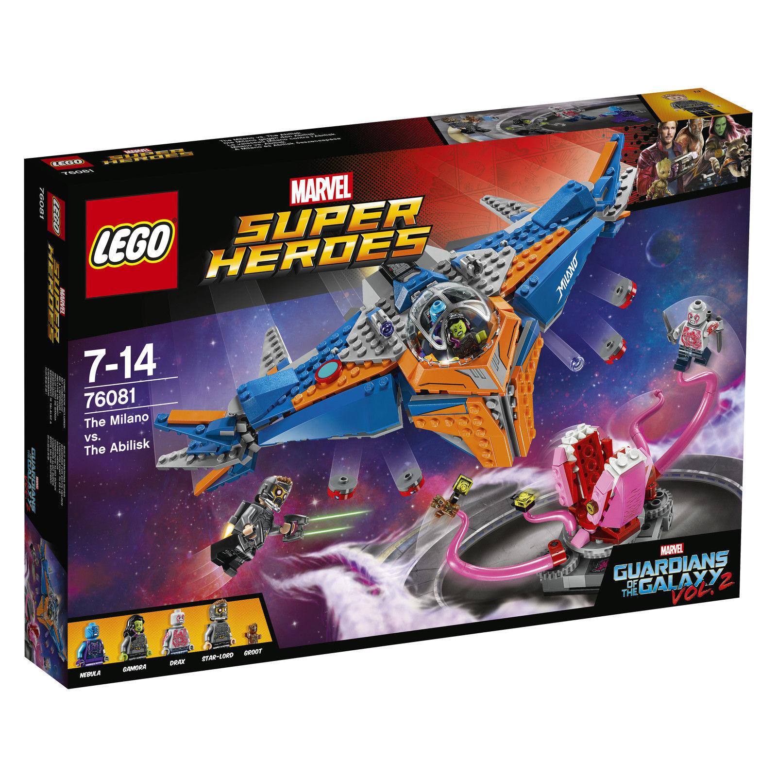 LEGO® Marvel Super Heroes (76081) Die Milano gegen den Abilisk inkl Versand