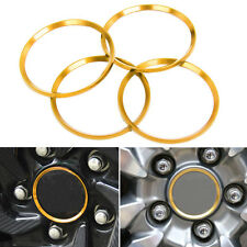 For Honda Civic 2016-17 Aluminium Wheel Center Hub Ring Decorator Cover Trim 4x