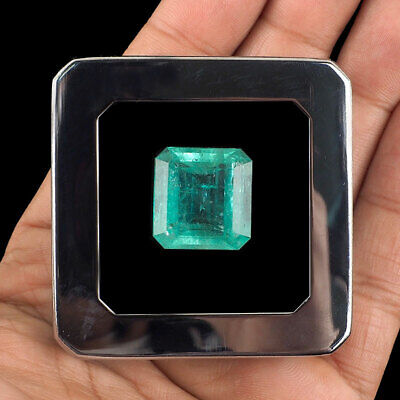 25.58 Cts Certified Natural Colombian Emerald Absolutely Stunning Rare Gemstone    eBay