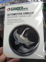 Gander Mountain 3.5 Emblem Goose Medallion Surface Mount Decal Adhesive Back