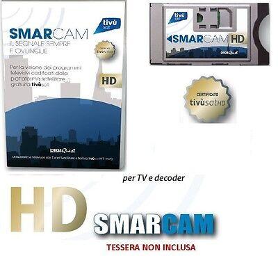 CAM HD TIVU'SAT MODULO DECODER E TV TIVU SAT HD CERTIFICATA ULTIMI 5 PEZZI