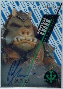 Star Wars 2016 High Tek Pattern 2 Form 1 Base Card SW-10 Gamorrean Guard