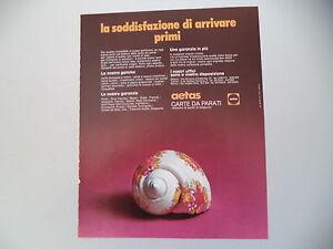 Aetas Carta Da Parati.Dettagli Su Advertising Pubblicita 1971 Carte Da Parati Aetas