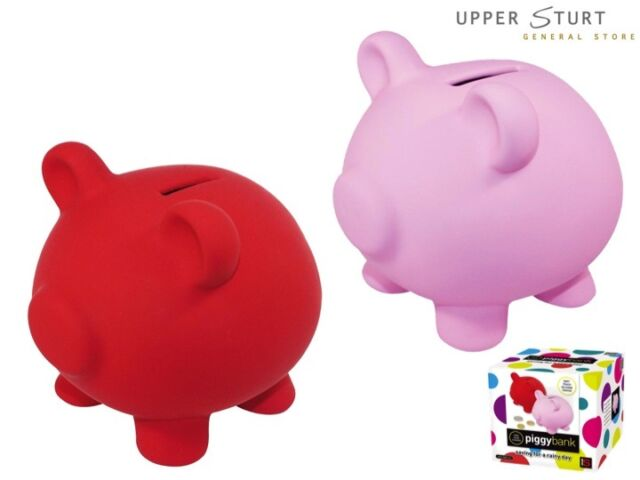 Money Box – Rainy Day Piggy Bank. Choice of Colours. FAST 'N FREE DELIVERY