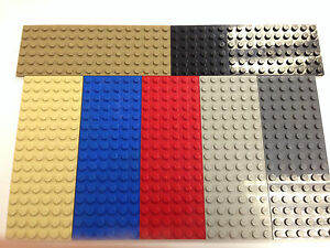 FREE POSTAGE Part 3027 SELECT COLOUR 1 x NEW LEGO Plate 6x16