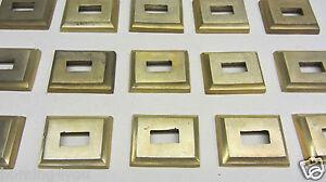 Garten & Terrasse Genossenschaft 103 Messing Abdeck Rosette Platte Geländerstäbe Treppengeländer Handlauf Gefertigt Nach 1945