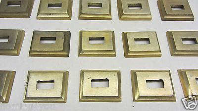 103 Ottone Nascosto Rosette Ringhiera Bacchette Correnti Di Scale Corrimano-r Handlauf It-it