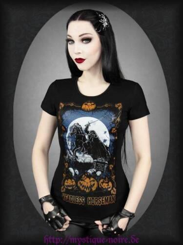 Gothic T-Shirt Kopfloser Reiter Punpkin Headles Horseman Horror Punk Rockabilly