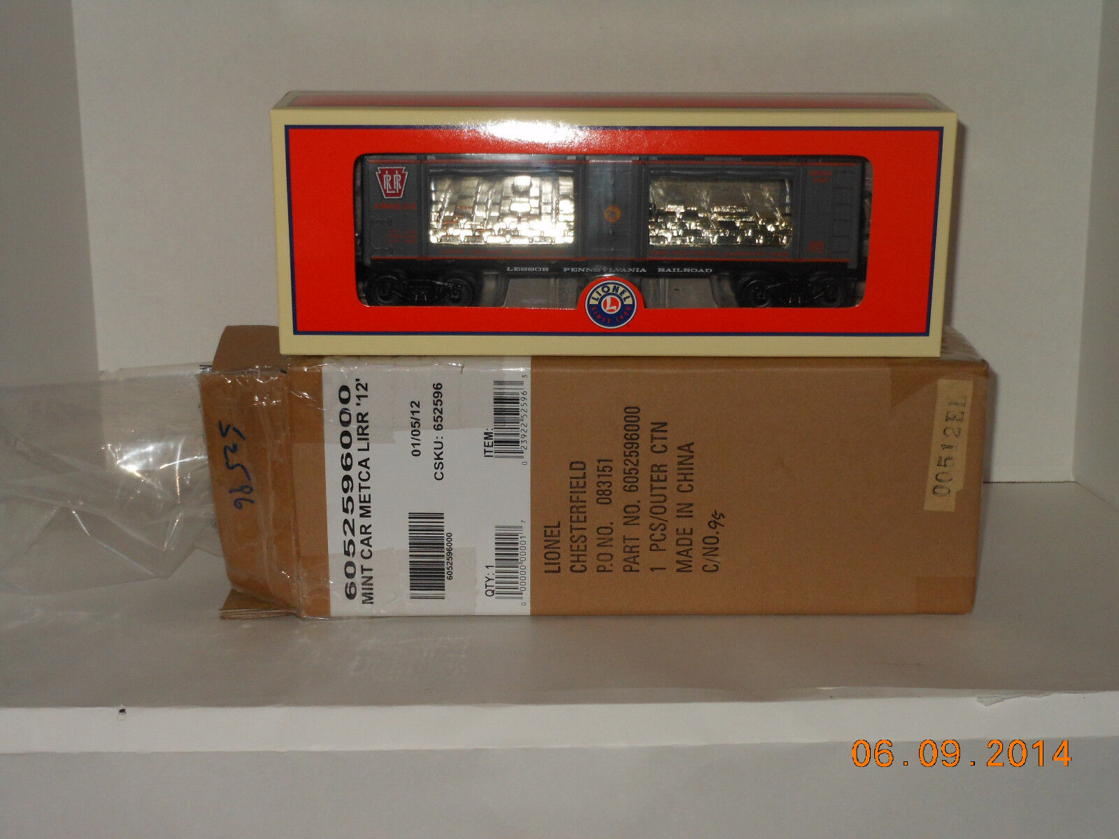 LIONEL  52596 metca long island railroad mint car