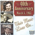 40th Anniversary by Patsy Cline (CD, Oct-2003, King Special)