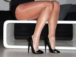 DESIGNER-Luxury-Glossy-Pantyhose-STW-Sheer-to-Waist-2-pack