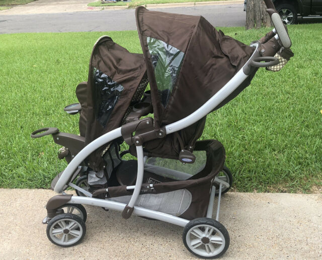 Graco Ready2Grow Click Connect LX Gotham Standard Double ...