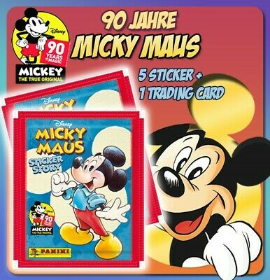 Panini Autocollant 210-Disney 90 ans Mickey