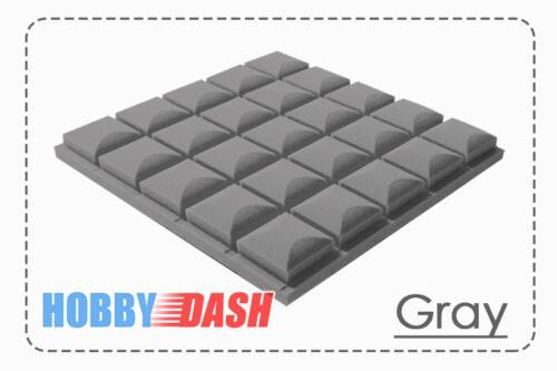 New 96pcs Bundle Hemisphere Grid Type Soundproof Acoustic Panel Tile Foam KK1040