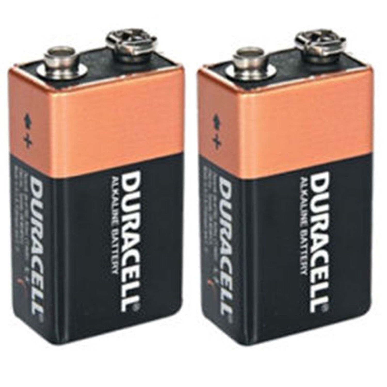 shrink pack of 2x duracell 9v pp3 heavy duty block alarm mn1604 battery alkaline. Black Bedroom Furniture Sets. Home Design Ideas