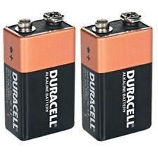 Shrink Pack Of 2X DURACELL 9V PP3 Heavy Duty Block Alarm MN1604 Battery Alkaline