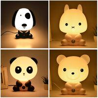מנורת לילה לחדר ילדים בצורת חיות