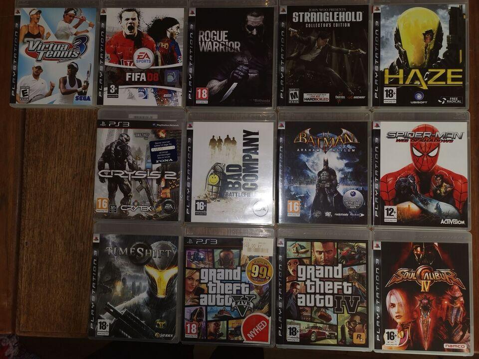 Div. Spil, PS3, action