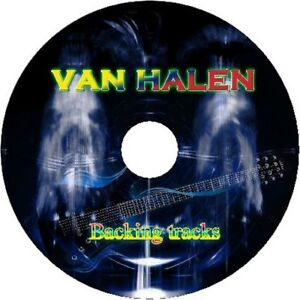 VAN-HALEN-GUITAR-BACKING-TRACKS-CD-BEST-GREATEST-HITS-MUSIC-PLAY-ALONG-MP3-ROCK