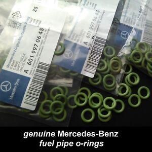 Genuine Mercedes ML270cdi Fuel line O ring Set