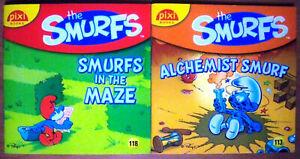 2-x-The-Smurfs-Pixi-Books-Alchemist-Smurf-Smurfs-in-the-Maze