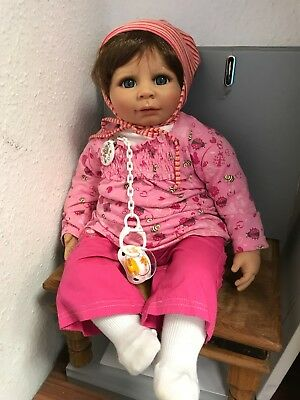 Top Zustand Art Dolls-ooak Dolls & Bears Considerate Monika Gerdes Vinyl Puppe 53 Cm