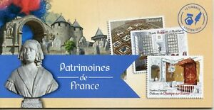 CARNET-AUTOADHESIF-NEUF-CARNET-N-BC999-PATRIMOINES-DE-FRANCE