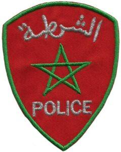 Parche-de-policia-nacional-de-Marruecos-pais-africano-Policia-De-Marruecos-EB01225