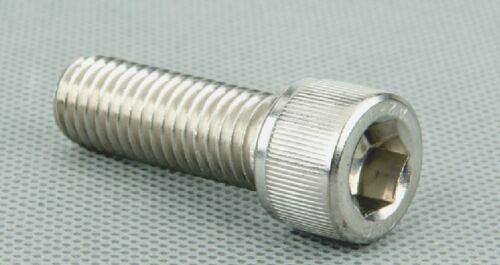 50-100PCS Metric Thread M3 304 Stainless Steel Hex Socket Head Cap Screw Bolts