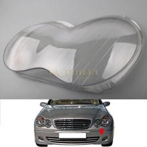 Left-Headlight-Headlamp-Clear-Lens-Cover-For-Mercedes-Benz-W203-C-Class-01-07