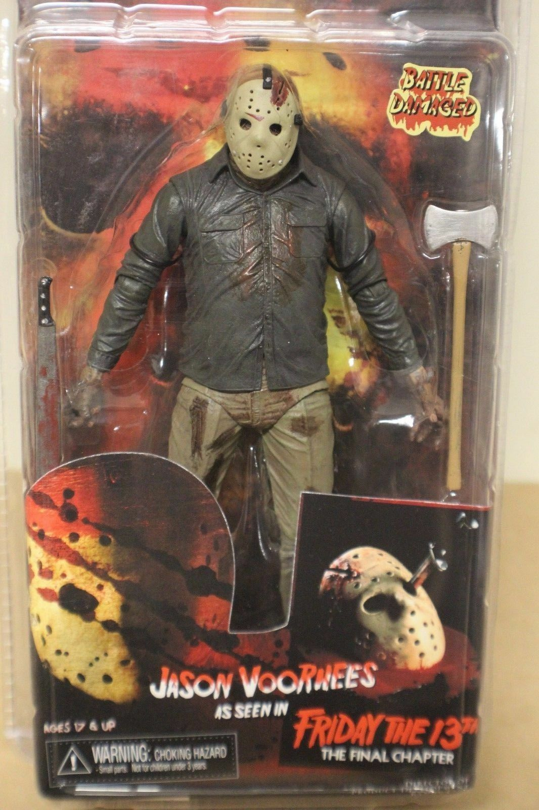Jason Voorhees Friday the 13th Final Chapter Battle Damaged NECA Action Figure