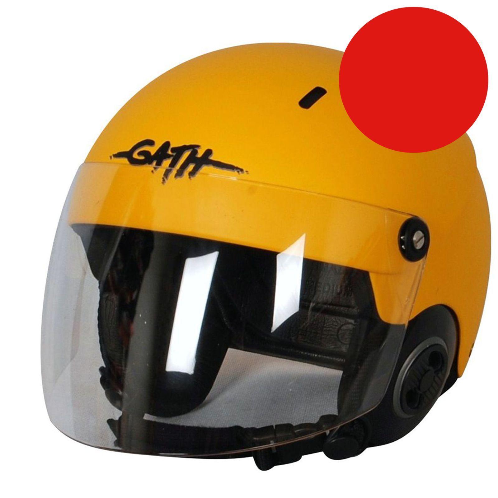 GATH Helm RESCUE Safety rot matt Gr XL  rot   Windsurf  Kite  Wakeboard Kanu