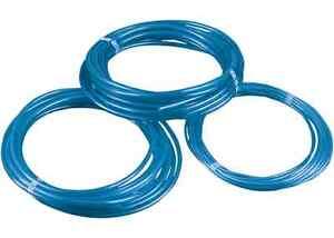 "Blue Polyurethane Fuel Line 1/4"" ID 25' Universal"