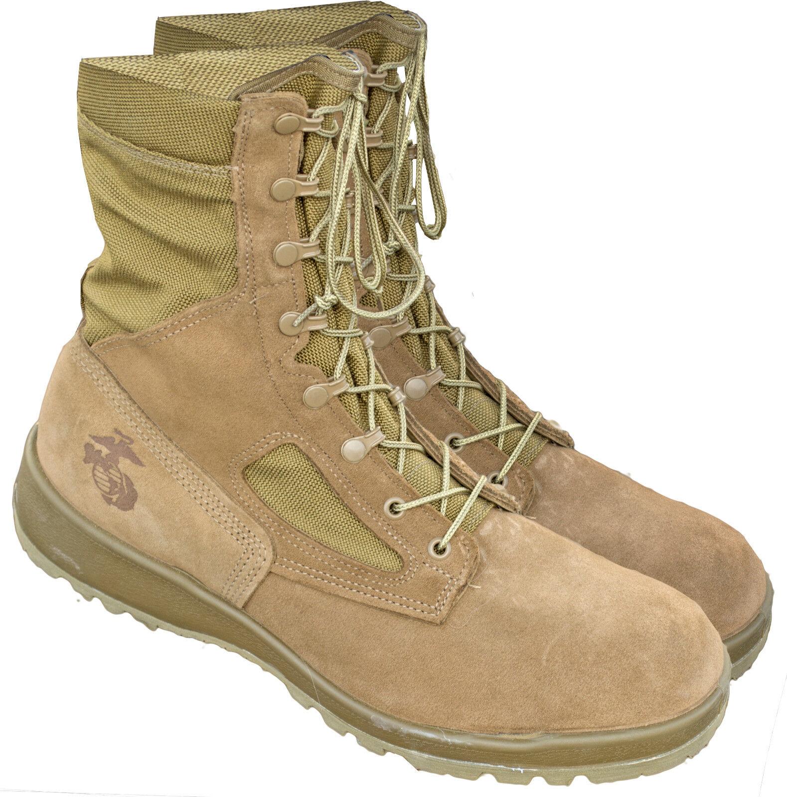 U.S. G.I. USMC Waterproof Combat Boots Size 11.5  wide Bates
