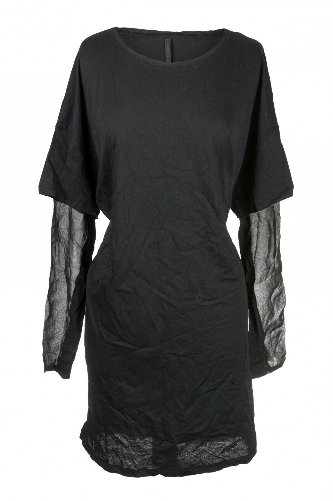 Peter O. Mahler Vestido T-Shirt Camiseta Transparente Brazos size XS-XL Algodón