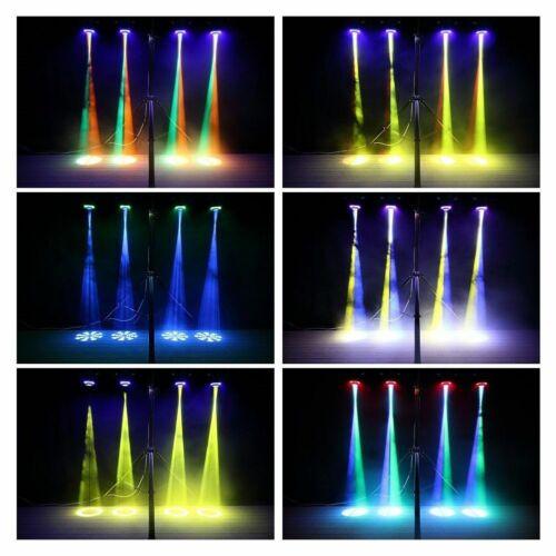 2STK 70W Bühnenlicht RGBW LED Moving Head Gobo Spot Licht DMX DJ Party Disco DHL