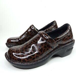 b-o-c-Mules-Women-Size-8-Brown-Cheetah-Print