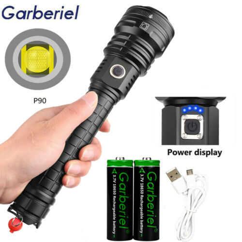 Cycle Torch Front Flashlight Aluminum Alloy Extender Tube For 18650 Battery Pop