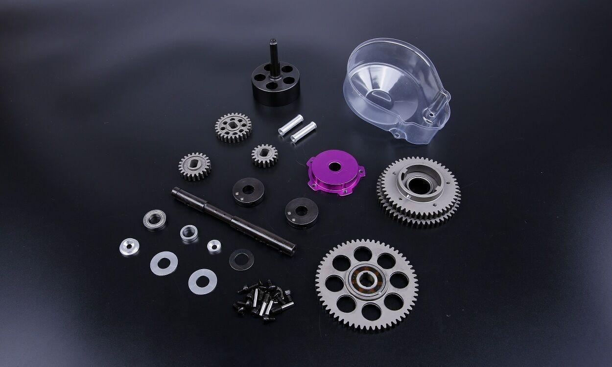 3 speed - kit mit lila gang auf 1   5 hpi baja 5b 5 5sc