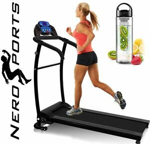 NERO-PRO-TREADMILL-Fixed-Incline-Electric-Motorised-Folding-Running-Machine