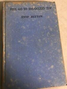 Enid-Blyton-Five-Go-To-Smuggler-039-s-Top-1st-ed-1945