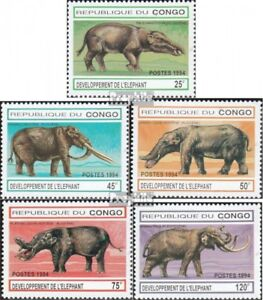 Never Hinged 1994 Development His Refreshment 1412-1416 Unmounted Mint Liberal Congo brazzaville