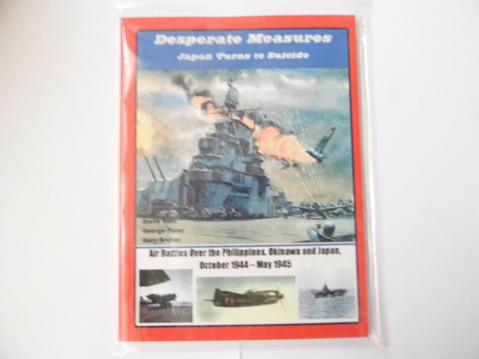 DESPERATE MEASURES - JAPAN TURNS TO SUICIDE  - WARGAMES RULES - WW2 -  NEW