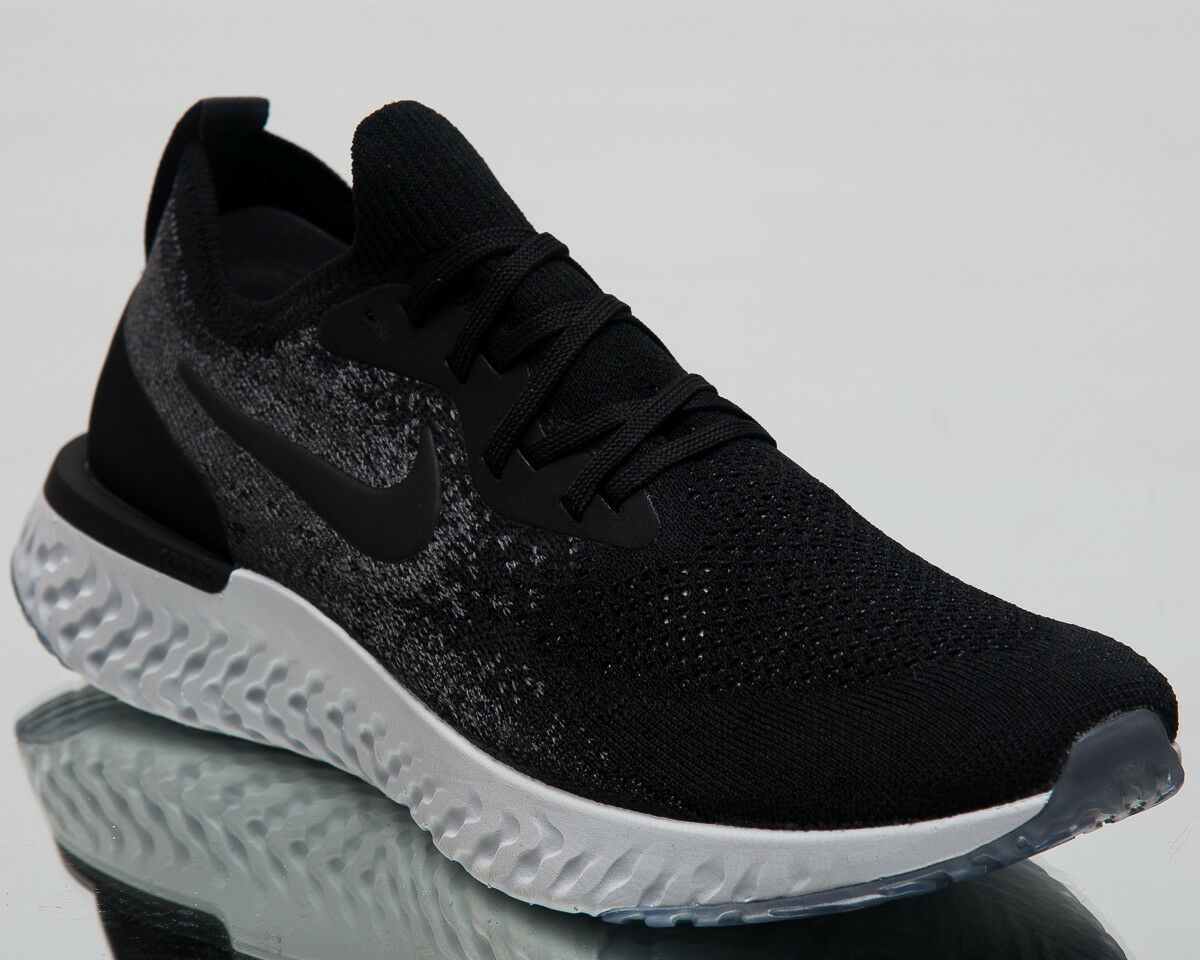 Nike Epic React Flyknit Running shoes Black Dark Grey 2018 Sneakers AQ0067-001